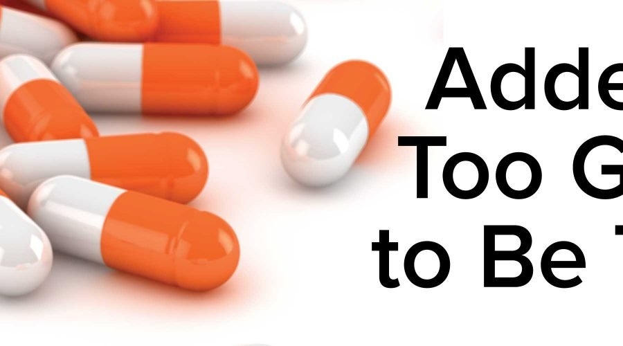 ADHD treated by Adderall
