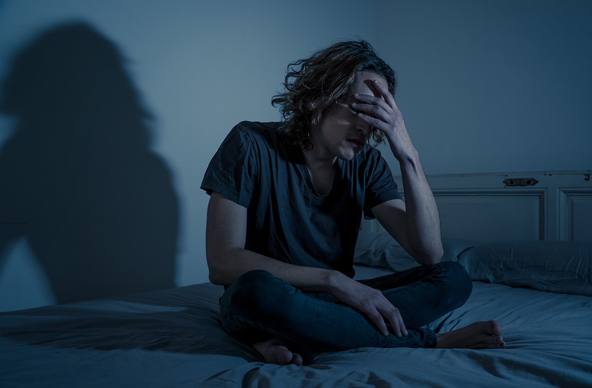 male depression use of xanax